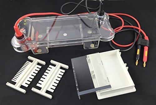 Azzota Electrophoresis Mini Submarine System, 260(L)x120(W)x110(H)mm, 260ml
