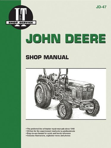 John Deere Shop Manual 850 950 & 1050 (Jd-47) by Penton Staff (2000-05-24)