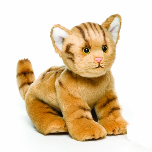 Plush Jungle Cat - Nat and Jules Playful Small Tabby Cat Children's Plush Stuffed Animal Toy