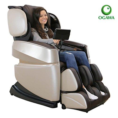 Ogawa Touch 3D Massage Chair (Ivory & Chocolate)