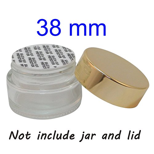 Bottle/Jar Pressure Foam Safety Tamper Resistant Seals 38mm 100 pack by TOPFASHION89
