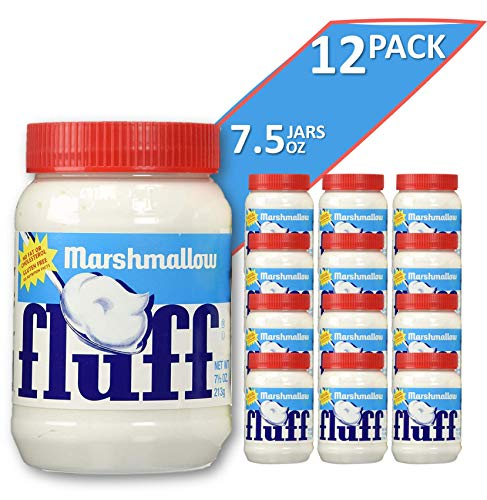 Marshmallow Fluff | Traditional Marshmallow Spread and Crème | Gluten Free, No Fat or Cholesterol (Regular - Classic, 12pk)