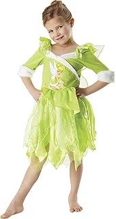 Disney Princesas Disfraz de Campanilla Winter, para niñas, talla M (Rubies 881869-