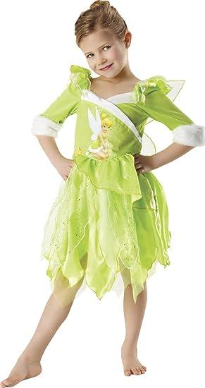 Peter Pan - Disfraz de Hada Campanilla de Invierno para niña, infantil 5-6 años (Rubies 881869-M)