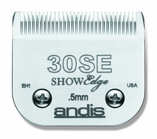 Andis Carbon-Steel ShowEdge Dog Clipper Blade, Size-30SE, 1/150-Inch Cut Length, My Pet Supplies