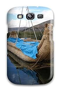 New Arrival DoEUWrp1093aoQAS Premium Galaxy S3 Case(titicaca Lake )