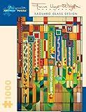 Pomegranate Frank Lloyd Wright: Saguaro Glass Designs 1000 Piece Jigsaw Puzzle (Pomegranate Artpiece Puzzle)