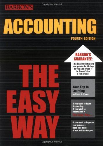 Accounting the Easy Way (Easy Way Series)