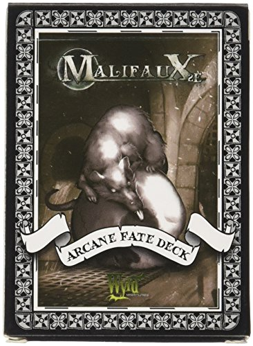Wyrd Miniatures Black and White Arcane Fate Deck Model Kit 3