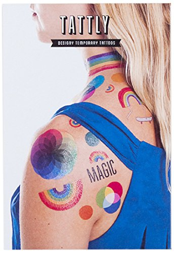 Tattly Temporary Tattoos Rainbow - Tattoos Pride Temporary