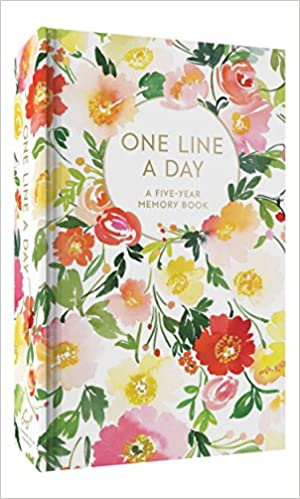 1892d28ee0915 Amazon.com: Floral One Line a Day: A Five-Year Memory Book (Blank Journal  for Daily Reflections, 5 Year Diary Book) (9781452164618): Yao Cheng: Books