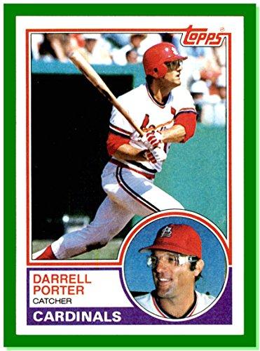 1983 Topps #103 Darrell Porter RIP ST. LOUIS CARDINALS (1983 St Louis Cardinals)