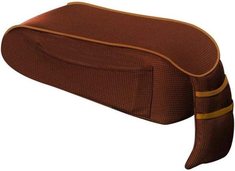 car centre console armrest cushion car armrest box storage box hand rest cushion pad with pocket ZHIXX MALL U-shaped design memory foam car armrest cushion