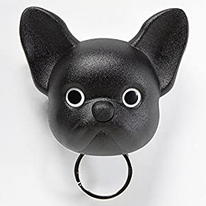 Sansukjai Black French Bulldog, Frenchie , Dog, Key Holder, Wall Decor, Wall Hanging, Key Hanger, Key Hooks, Dog lover, Gift