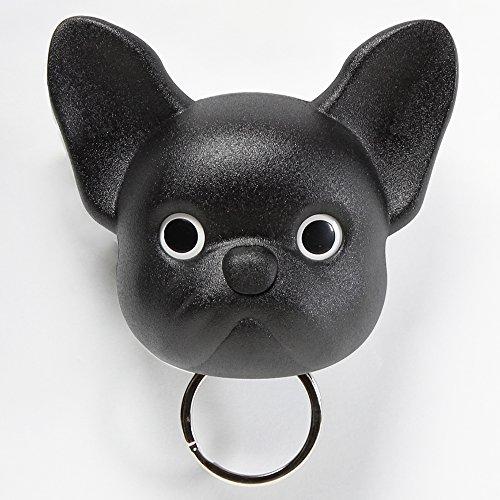 Sansukjai Black French Bulldog, Frenchie , Dog, Key Holder, Wall ...