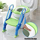 Cushion Design Soft Comfort Seat Chair Toilet Trainer Kids Potty Baby Training Toddler Ladder Step Stool Up