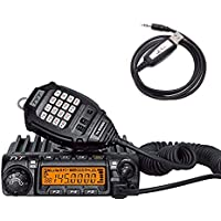 TYT TH-9000D 1.25M VHF 220-260Mhz Car Radio 65W Band FM Mobile Transceiver W/ Cable