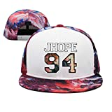 Rhdjhd Adjustable Flat Baseball Cap for Men/Women
