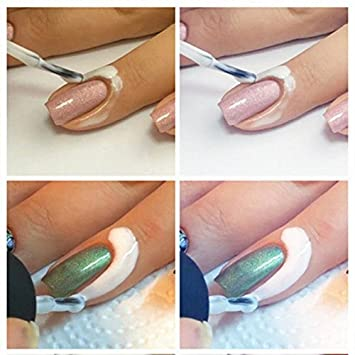 Lifecart Pink Peel Off Liquid Nail Tape Peel Off Base Coat Nail Art