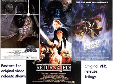 First Release: Star Wars, Empire Strkes Back, Return of the Jedi (Star Wars Return Of The Jedi Vhs)