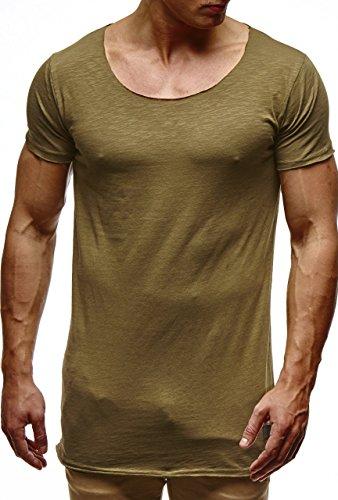 T Homme shirt Kaki Nelson Leif A5Cw7q44