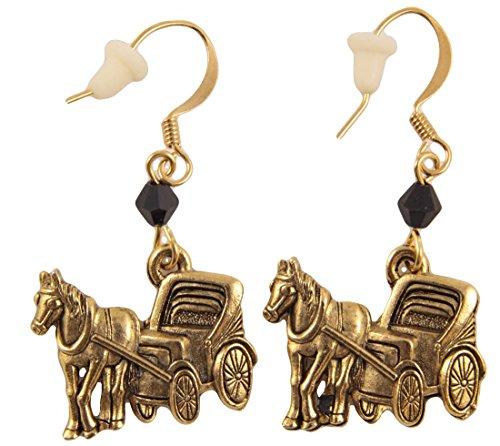 Horseshoe Nail Earrings - 2