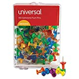 Universal 31312 3/8-Inch Gemstone Color Push Pins