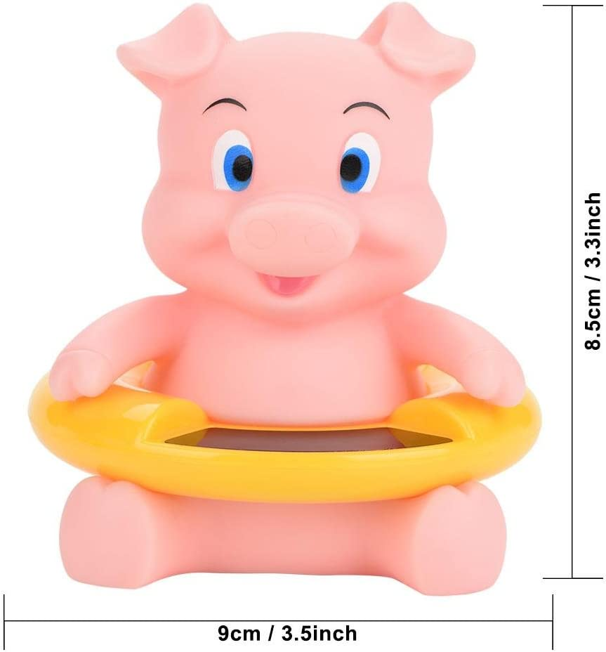 6 Styles Baby Bath Thermometer Temperature Display Floating Cute Animal Green Crocodile Bath Toy