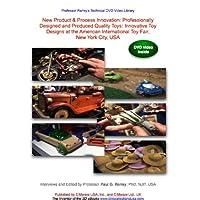 Innovación de nuevos productos y procesos (NPPI): Juguetes de calidad diseñados y producidos profesionalmente: Diseños innovadores de juguetes en la Feria Internacional Americana del Juguete,