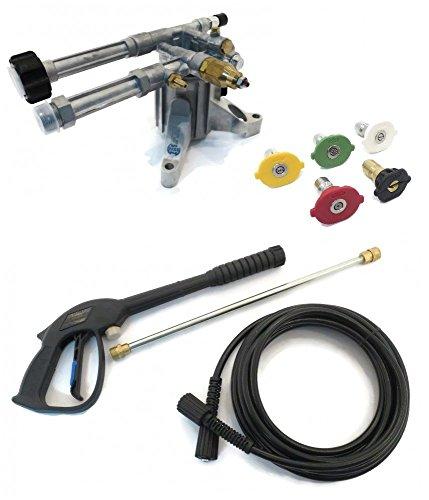 (Annovi Reververi 2400 psi AR Pressure Washer Pump & Spray KIT - AR RMW2.2G24-EZ Replacement EZ by The ROP Shop)