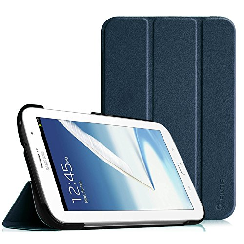 Price comparison product image Fintie Samsung Galaxy Note 8.0 Case Cover - Ultra Slim Lightweight Stand Smart Shell with Auto Sleep / Wake Feature,  Do NOT Fit Samsung Galaxy Note8 Android Smartphone(2017 release),  Navy