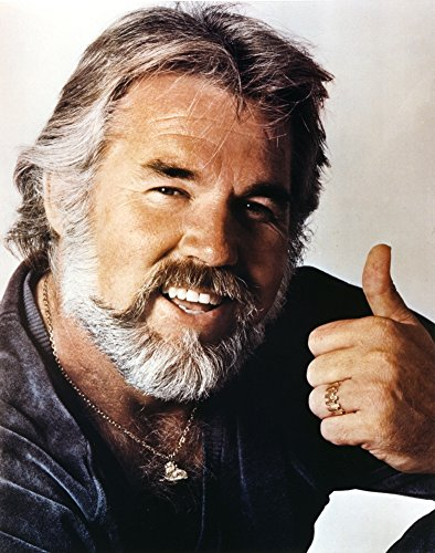 Kenny Rogers smiling Close Up Portrait Photo Print (8 x 10)