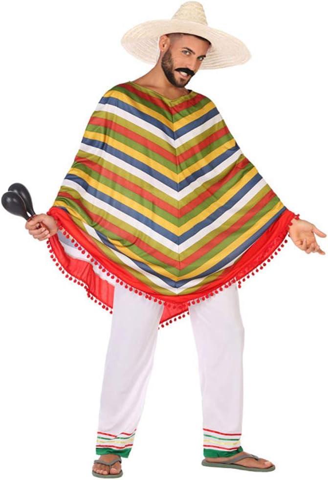 Atosa-5661 Disfraz Mejicano, multicolor, M-L (5661): Amazon.es ...
