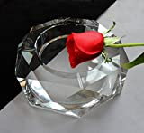 XY&GK Practical fashion crystal ashtray, creative gift, super size, European style,with best service