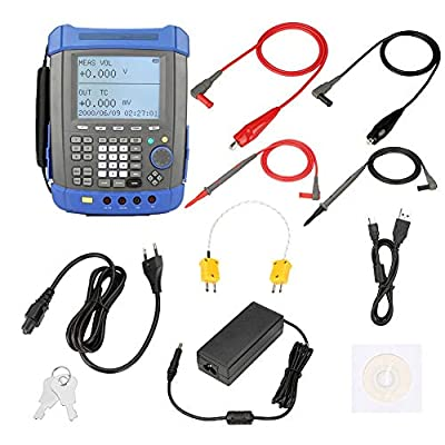 HT824 Process Calibrate Voltage Current Frequency/USB Signal Generator Process Multimeter AC100-240V(US)