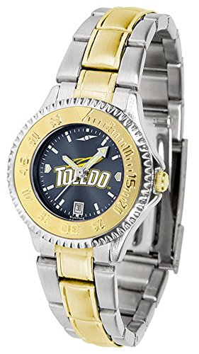 Toledo Rockets Competitor Two-Tone AnoChrome Women's Watch