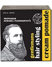 Professor Fuzzworthy's Gentlemans Hair & Beard Styling Pomade - Leave in Conditioner All Natural Men's Grooming with Leatherwood Honey & Essential Plant Oils | Handmade on Tasmania Australia