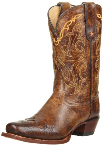 (Tony Lama Women's Bark Santa Fe VF6004 Boot,Bark Santa,6 B US)