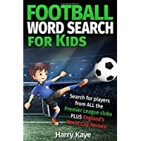 Football Word Search for Kids: 2017/18 Premier League Teams