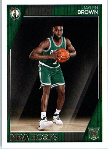 2016-17 Panini NBA Hoops #263 Jaylen Brown Boston Celtics Basketball Rookie Card in Protective Screwdown Display (Boston Single)