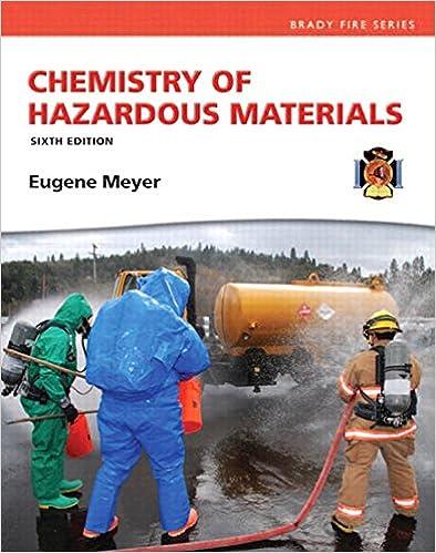 Amazon chemistry of hazardous materials hazardous materials amazon chemistry of hazardous materials hazardous materials chemistry ebook eugene meyer kindle store fandeluxe Images