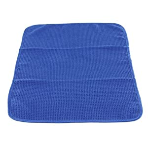 Chemical Guys MIC_708_1 Glass and Window Waffle Weave Towel, Blue (24 in. x 16 in.)