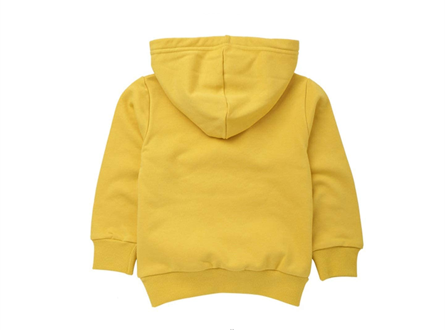 Kids Long Sleeve Sweatshirts Boys Girls Casual 11 Color Cotton Pockets Pullover Hoodies Tops 24M-7T