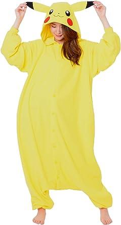 SAZAC Kigurumi Pokemon Pikachu – Mono de mono para disfraz de ...