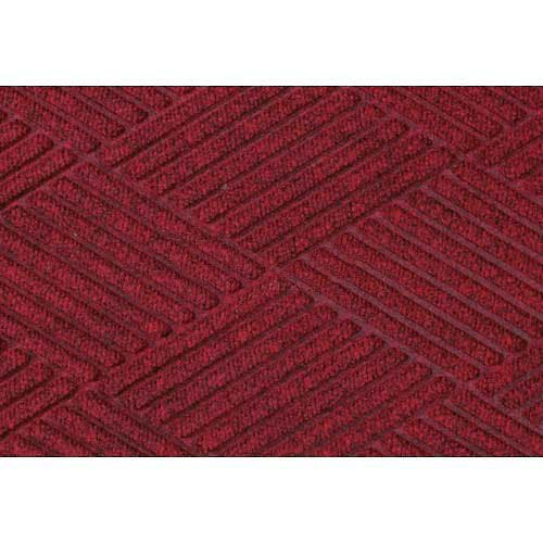 Waterhog Fashion Diamond Mat, Red/Black 6' x (Waterhog Fashion Diamond Mat)