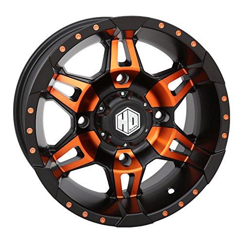 Bundle 4x156 Bolt Pattern 12mmx1.5 Lug Kit STI HD7 14 Wheels Orange//Black 32 Carnivore Tires 9 Items