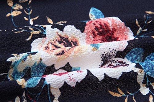 Spalla Maxi donne Coolred As1 Donne Abbigliamento Casual Floreale Elastico vita Off Petto Involucro U6BnUxqwF