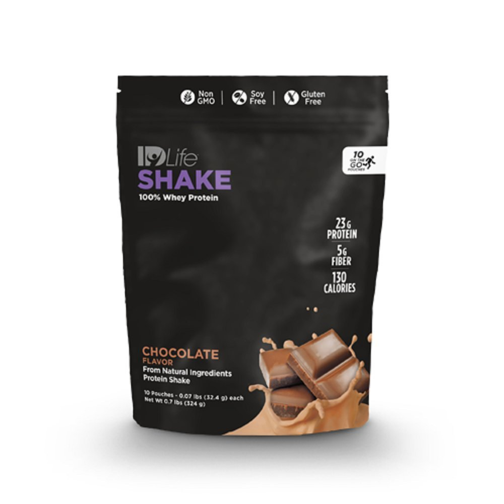 IDLife Meal Replacement & Weight Loss Protein Shakes - Chocolate Flavor - 10 Individual Packets for Travel by IDLife (Image #3)