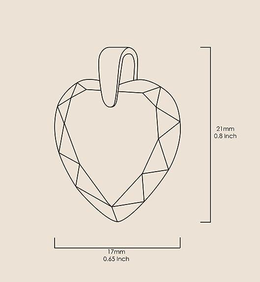 Vergoldete Herzkette I Love You to the Moon and Back Graviert mit 24k Gold  auf 17mm Zirkonia Anhänger in Granat-Rot, 45cm Gold-filled Kette   Amazon.de  ... f8add3b02e