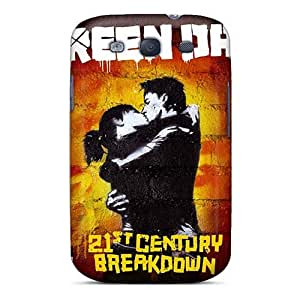AlissaDubois Samsung Galaxy S3 Scratch Protection Mobile Cases Custom Realistic Green Day Skin [ZZO731eoyL]